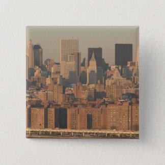 USA, New York, New York City, Manhattan: 12 Pinback Button