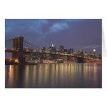 USA, New York, New York City, Manhattan: 14 Greeting Card