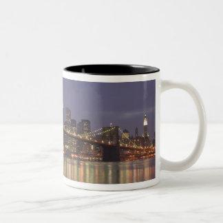 USA, New York, New York City, Manhattan: 14 Two-Tone Coffee Mug
