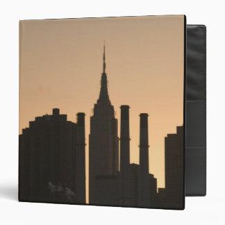 USA, New York, New York City, Manhattan: 23 Vinyl Binders