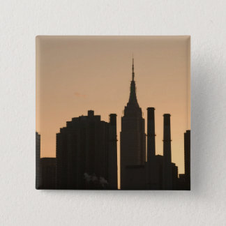 USA, New York, New York City, Manhattan: 23 Pinback Button