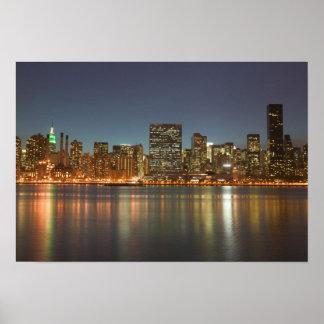 USA, New York, New York City, Manhattan: 24 Poster