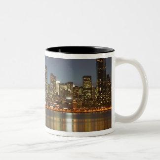 USA, New York, New York City, Manhattan: 24 Two-Tone Coffee Mug