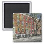 USA, New York, New York City, Manhattan: 25 2 Inch Square Magnet