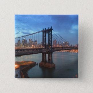 USA, New York, New York City, Manhattan: 26 Pinback Button