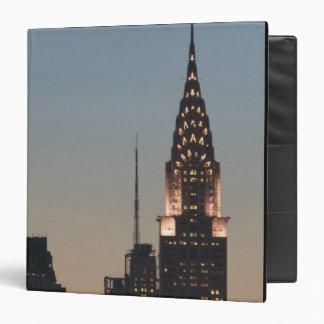 USA, New York, New York City, Manhattan: 3 Binder