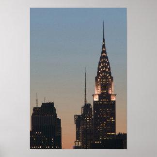 USA, New York, New York City, Manhattan: 3 Print