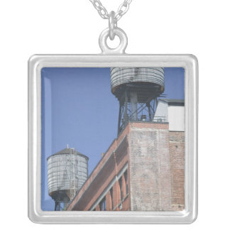 USA, New York, New York City, Manhattan: 5 Silver Plated Necklace