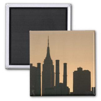 USA, New York, New York City, Manhattan: 6 2 Inch Square Magnet
