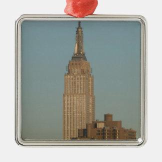 USA, New York, New York City, Manhattan: 7 Christmas Ornaments
