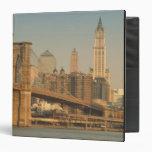 USA, New York, New York City, Manhattan: 9 Vinyl Binder