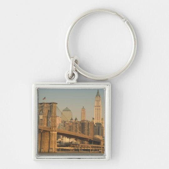 USA, New York, New York City, Manhattan: 9 Keychain