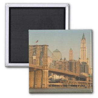 USA, New York, New York City, Manhattan: 9 2 Inch Square Magnet
