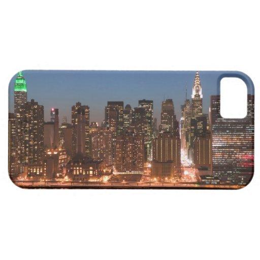 USA, New York, New York City, Manhattan: Aerial iPhone 5 Covers
