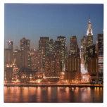 USA, New York, New York City, Manhattan: Aerial Ceramic Tile