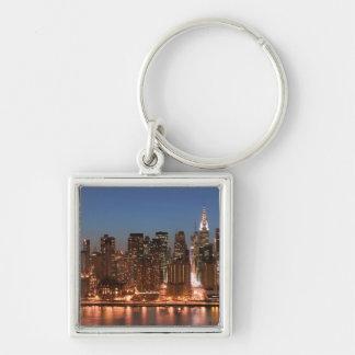 USA, New York, New York City, Manhattan: Aerial Keychains