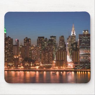 USA, New York, New York City, Manhattan: Aerial Mouse Pad