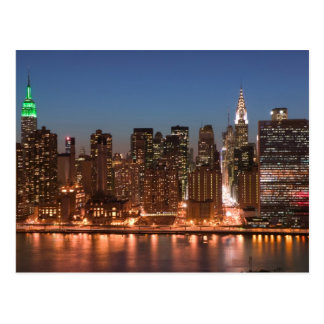 USA, New York, New York City, Manhattan: Aerial Postcard