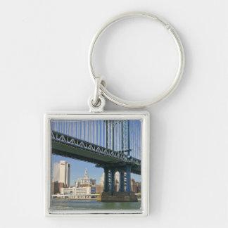USA, New York, New York City. Manhattan Bridge Keychain