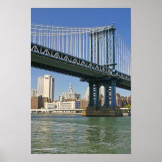 USA, New York, New York City. Manhattan Bridge Poster