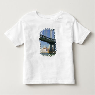 USA, New York, New York City. Manhattan Bridge Toddler T-shirt