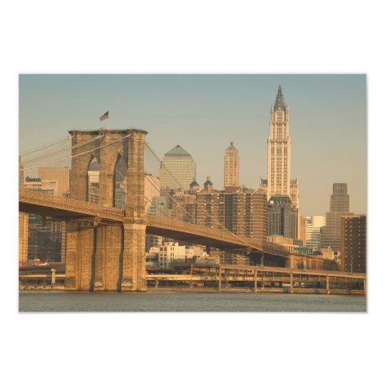 USA, New York, New York City, Manhattan: Photo Print