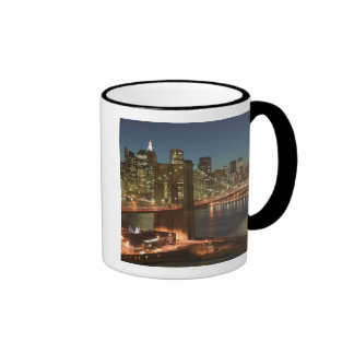 USA, New York, New York City, Manhattan: Ringer Mug