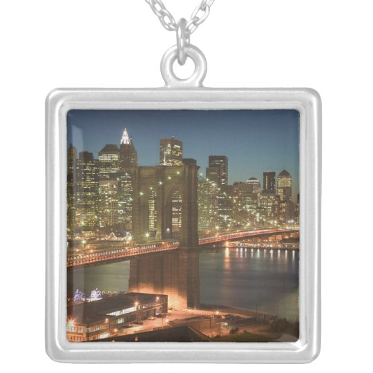 USA, New York, New York City, Manhattan: Silver Plated Necklace
