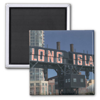 USA, New York, New York City, Queens: Long 2 Inch Square Magnet