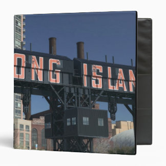 USA, New York, New York City, Queens: Long 3 Ring Binder