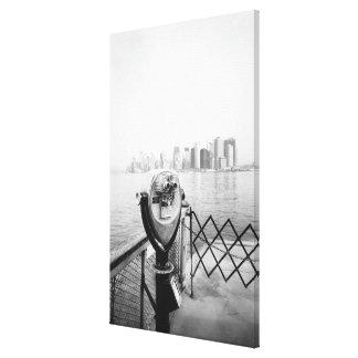 USA, NEW YORK: New York City Scenic Viewer Canvas Print