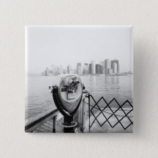 USA, NEW YORK: New York City Scenic Viewer Pinback Button