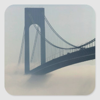 USA, New York, New York City, Staten Island: Square Sticker