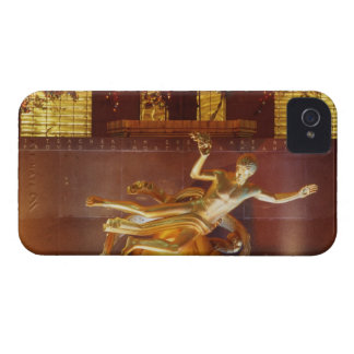 USA, New York, New York City, Statue of iPhone 4 Case-Mate Case