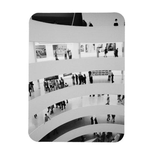 USA, New York, New York City: The Guggenheim 2 Magnet