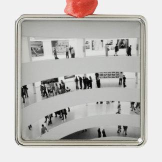 USA, New York, New York City: The Guggenheim 2 Metal Ornament
