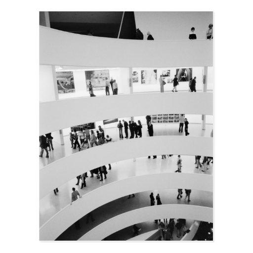 USA, New York, New York City: The Guggenheim 2 Postcards