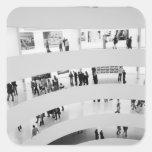 USA, New York, New York City: The Guggenheim 2 Square Sticker