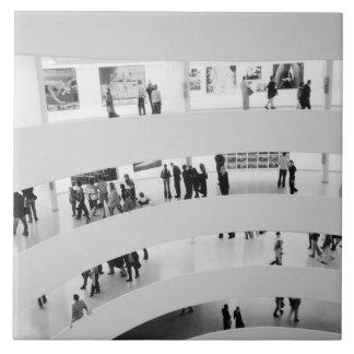 USA, New York, New York City: The Guggenheim 2 Large Square Tile
