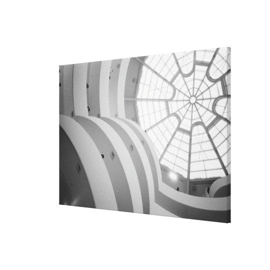 USA, New York, New York City: The Guggenheim 3 Canvas Print