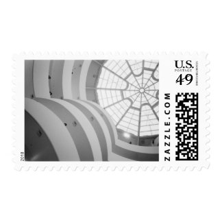 USA, New York, New York City: The Guggenheim 3 Postage Stamp