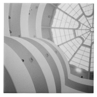 USA, New York, New York City: The Guggenheim 3 Large Square Tile