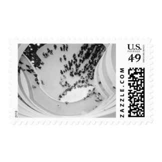USA, New York, New York City: The Guggenheim 4 Postage