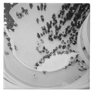 USA, New York, New York City: The Guggenheim 4 Large Square Tile