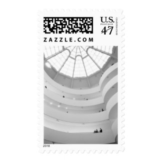 USA, New York, New York City: The Guggenheim Postage