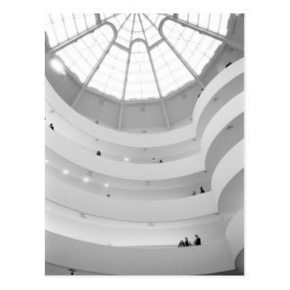 USA, New York, New York City: The Guggenheim Postcard