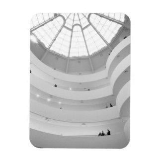 USA, New York, New York City: The Guggenheim Rectangular Photo Magnet