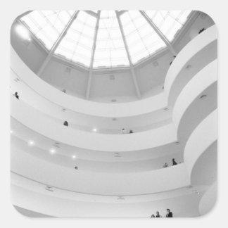 USA, New York, New York City: The Guggenheim Square Sticker