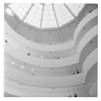 USA, New York, New York City: The Guggenheim Large Square Tile