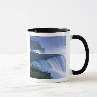 USA, New York, Niagara Falls. American Falls in Mug